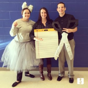 rock paper scissors group halloween costume