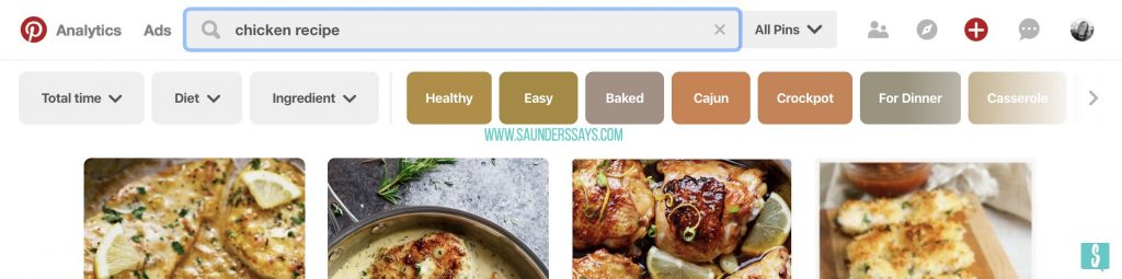 Best Tips: How to Keyword for Pinterest - saunders says