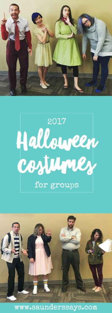 2017 group halloween costumes