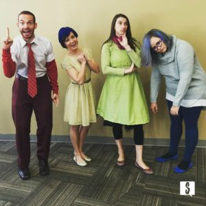 inside out group halloween costume