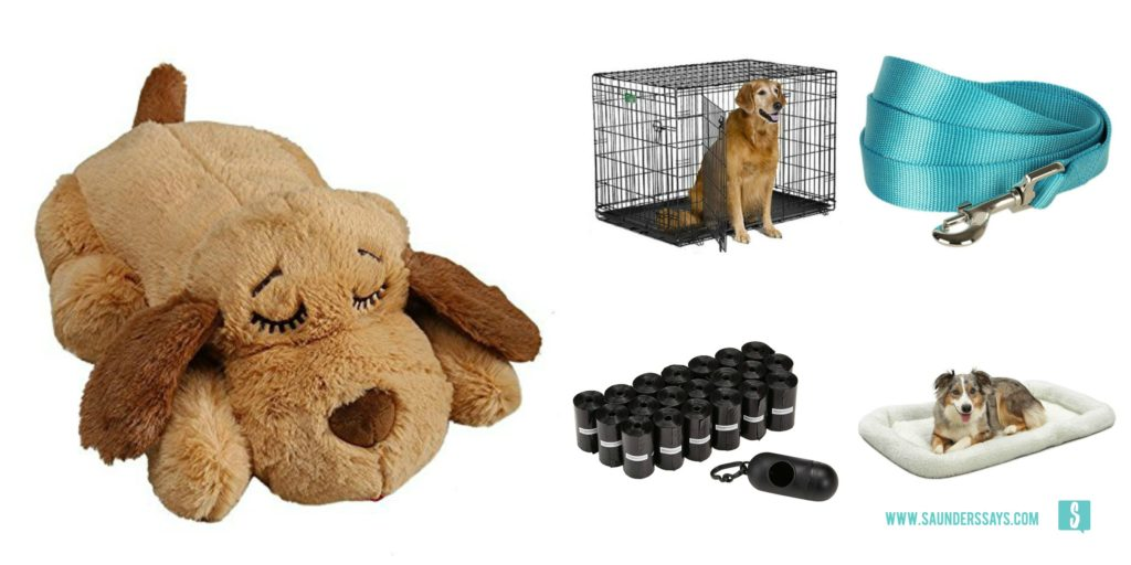 new puppy supplies shopping guide for new pawrents www.saunderssays.com