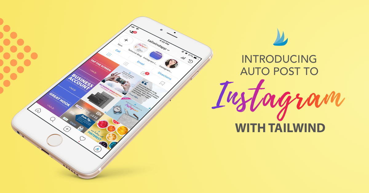 How To Schedule Instagram Posts with Tailwind! www.saunderssays.com