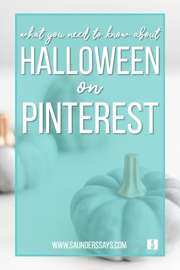 What you need to know about Halloween on Pinterest