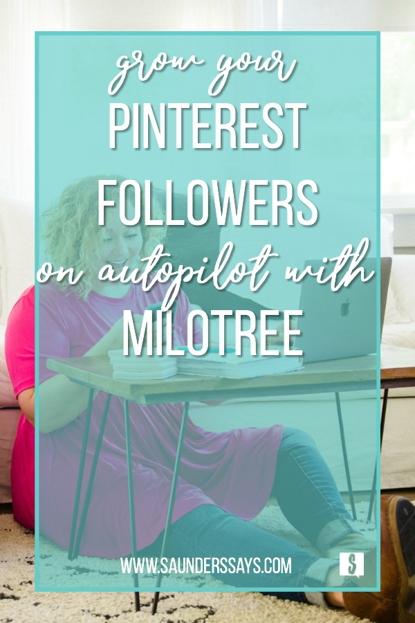 grow your pinterest followers on autopilot with milotree